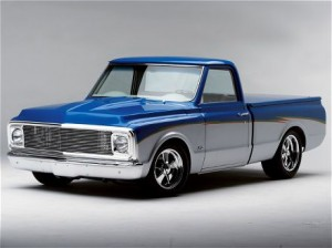 Custom 1972 Chevy Truck